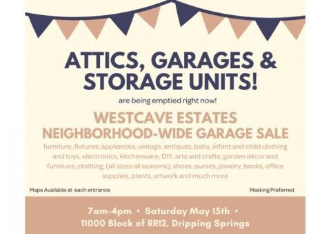 Neighborhood-Wide Garage Sale