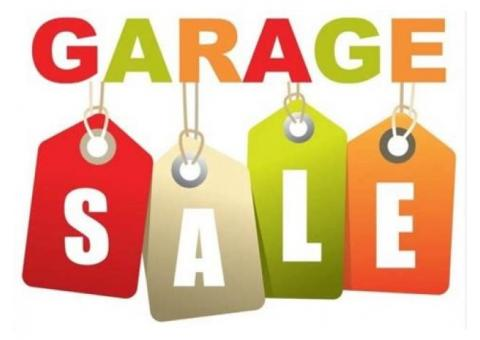 Two-Family Garage sale in Concord TWP